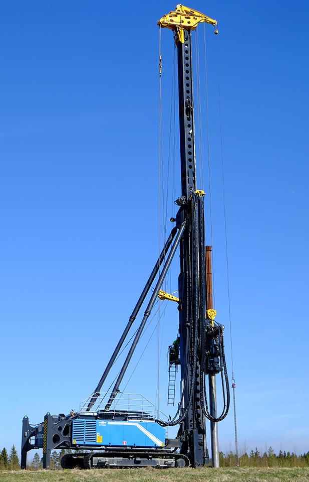 Multipurpose drilling rigs | Junttan