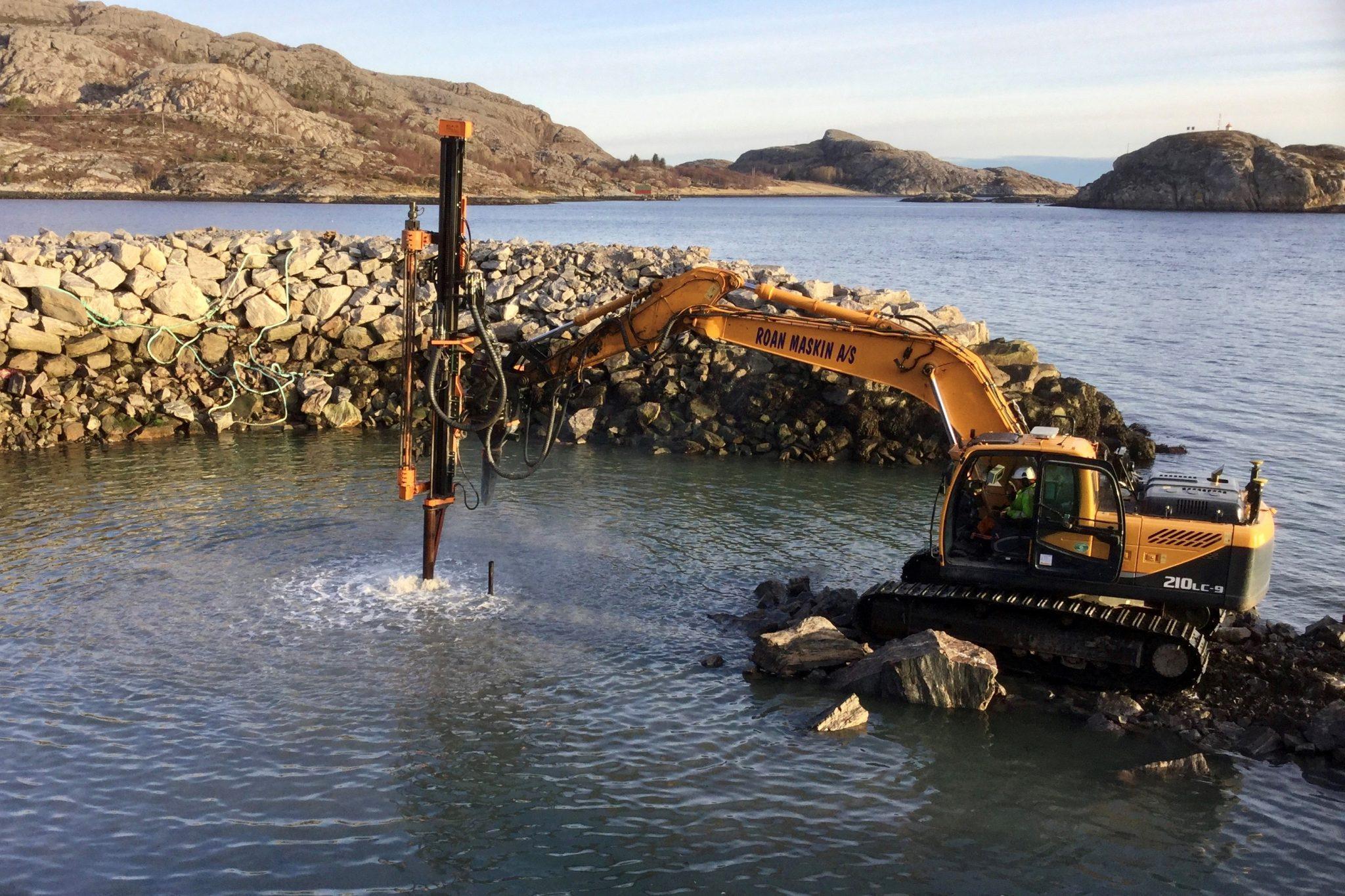 ExcaDrill - Excavator-mounted Drilling Attachments   Junttan