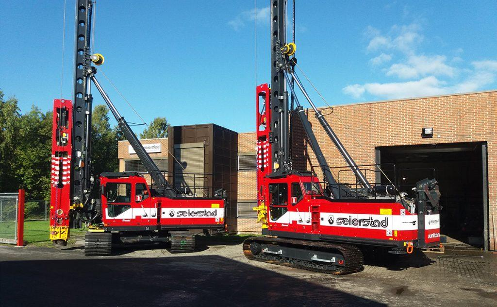 Pile Driving Rigs and Piling Equipment | Junttan