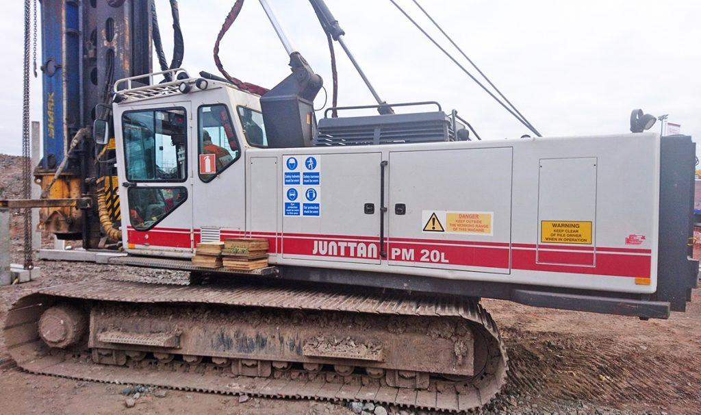 Used Pile Drivers and Equipments | Junttan