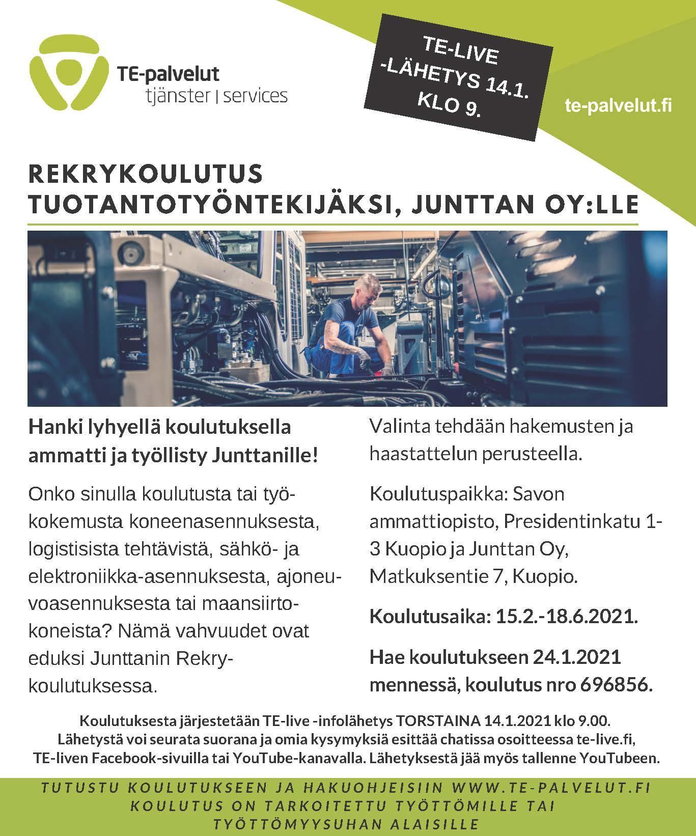 Rekrykoulutus Kuopio